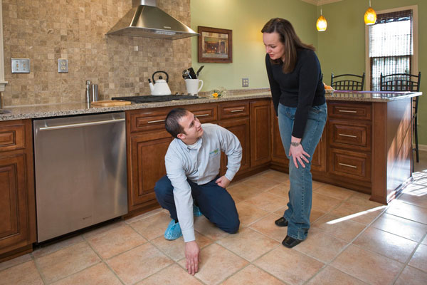 tile and grout cleaning by ServiceMaster by Wright