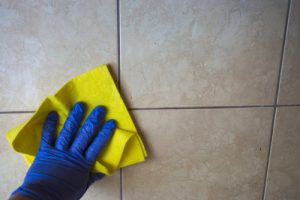 How to Properly Clean your Tile and Grout after the Holiday Season