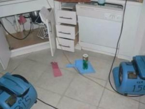 Sink Overflow Causes Water Damage to Condo