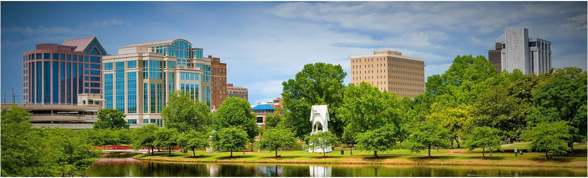 Huntsville City Skyline