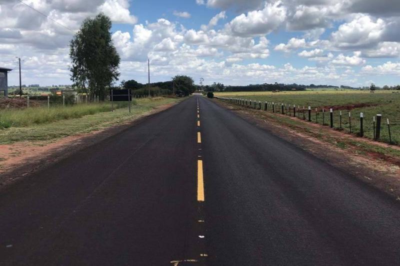 Rodovias da região de Umuarama recebem melhorias no pavimento