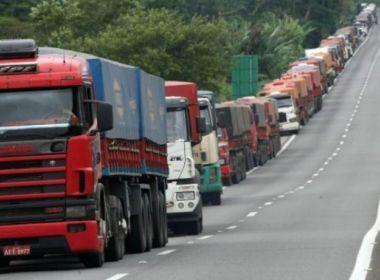 Novo frete mínimo de caminhoneiros sai em julho; entidades descartam greve.
