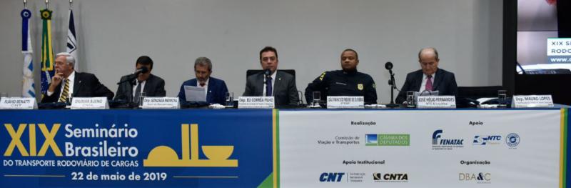 CNT e SEST SENAT debatem previdência e infraestrutura na Câmara dos Deputados