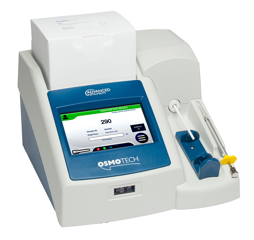 OsmoTECH osmometer for bioprocessing labs