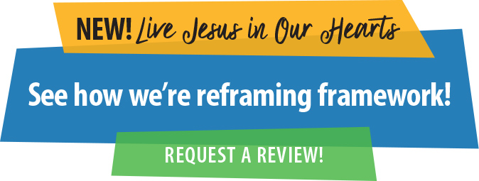 New! Live Jesus in Our Hearts. Request a review!
