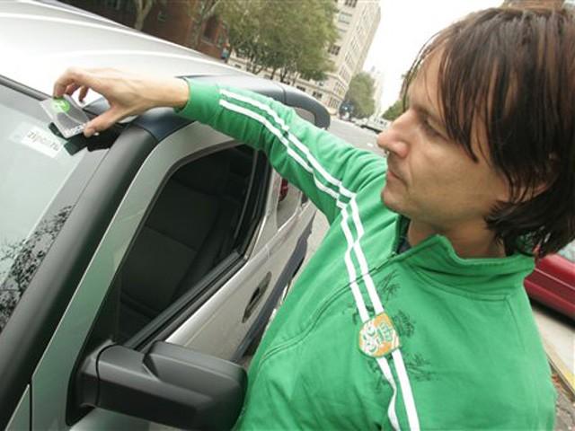 Zipcar Promotion New York 2012 Fall
