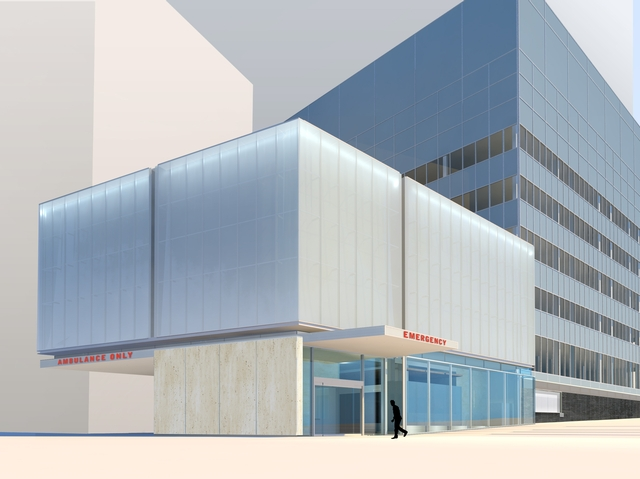 NYU Langone Medical Center Emergency Department expansion