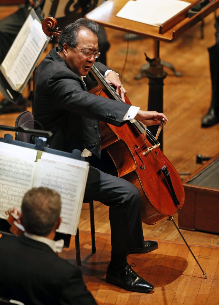 Yo-Yo Ma is using Bach to change the world | Datebook
