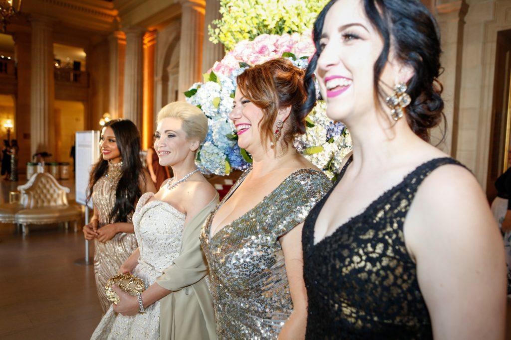 Viva La Drama Huge Dresses And Headpieces Rule The Opera Ball