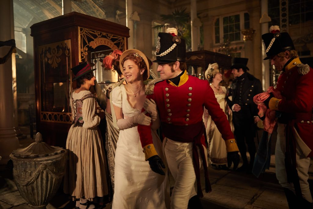 Olivia Cooke Stars In Vanity Fair The Soapy Period Drama We Need This Year Datebook