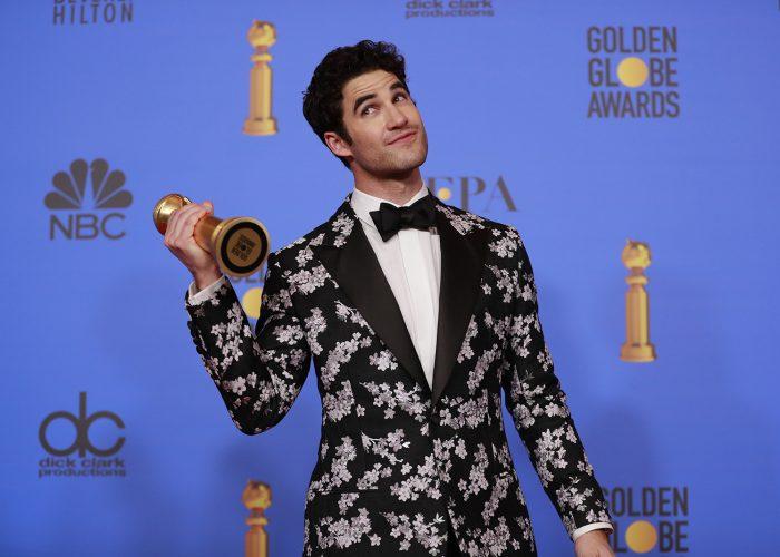Golden Globes 2019: SF native Darren Criss dedicates his ...