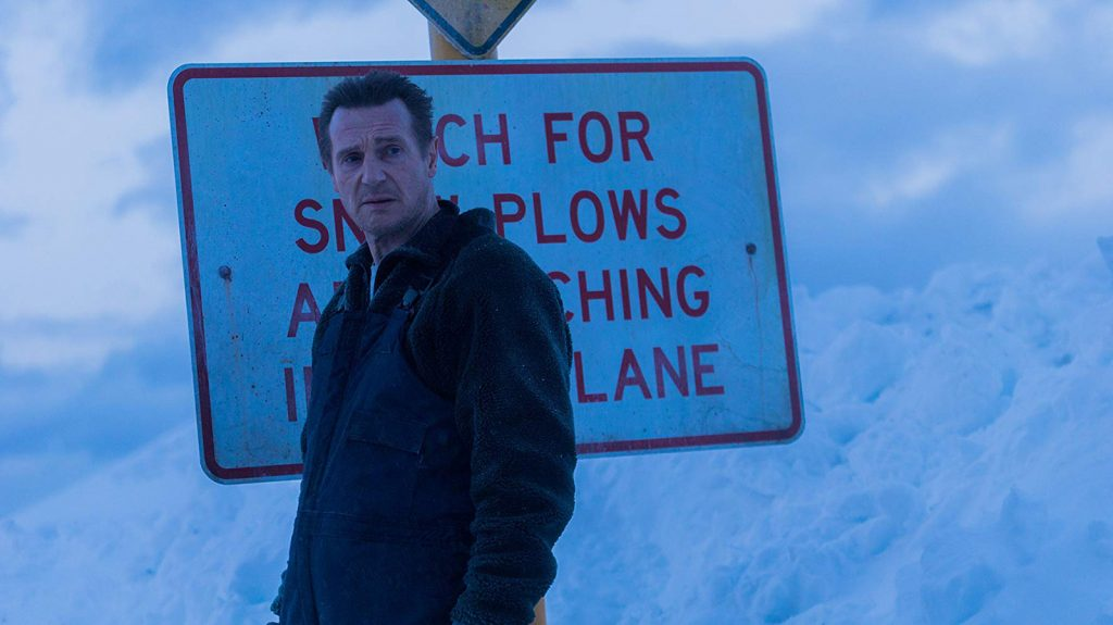 Review Liam Neeson Goes On Another Rampage In Cold Pursuit But This Time Joke S On Him Datebook