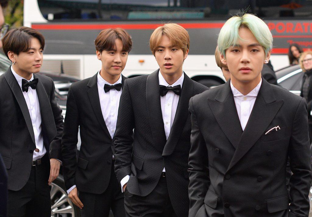 BTS makes Grammy history as first K-pop presenters | Datebook