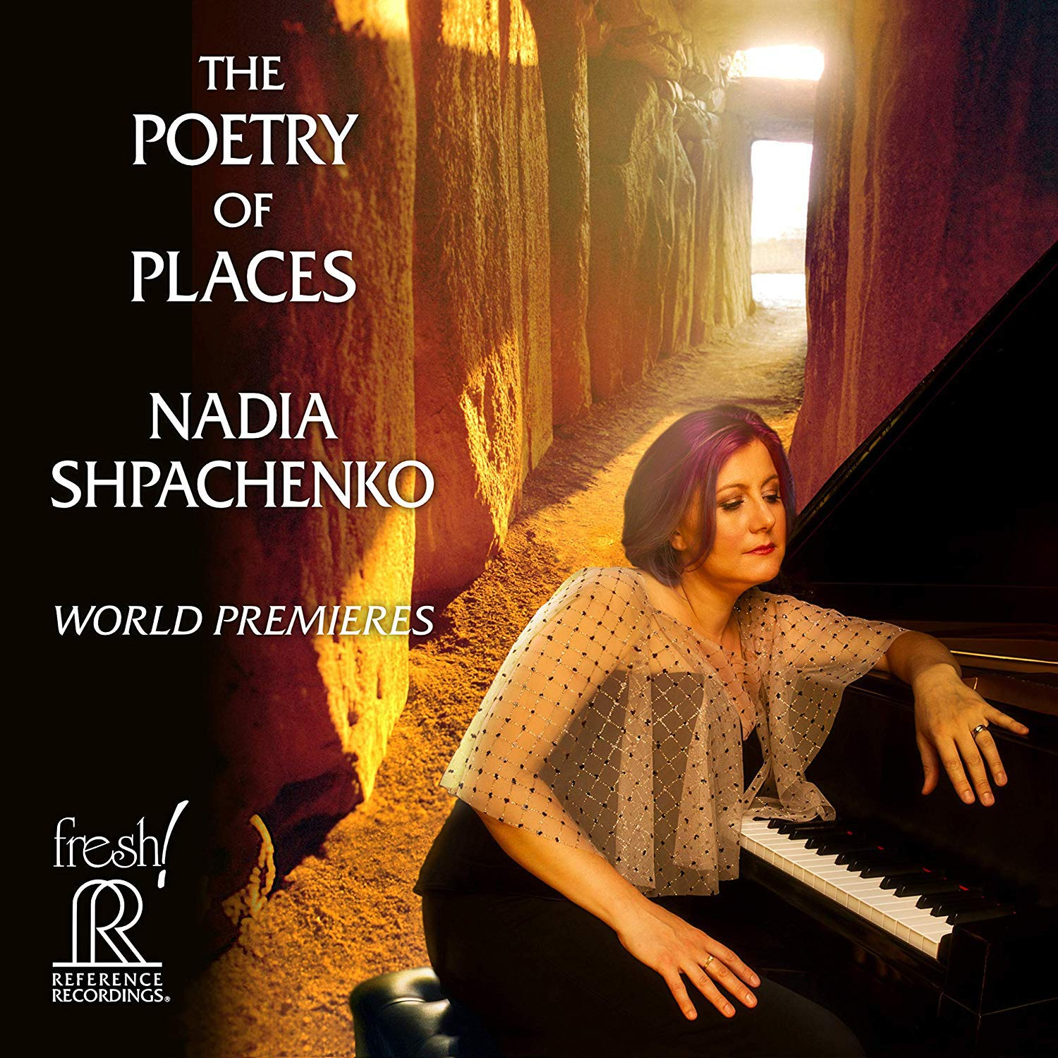Album review: Pianist Shpachenko premieres music with a sense of