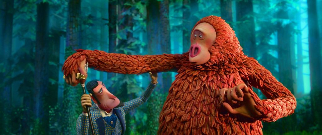 Movie Poster 2019: Review: 'Missing Link' Takes Bigfoot On A Delightful