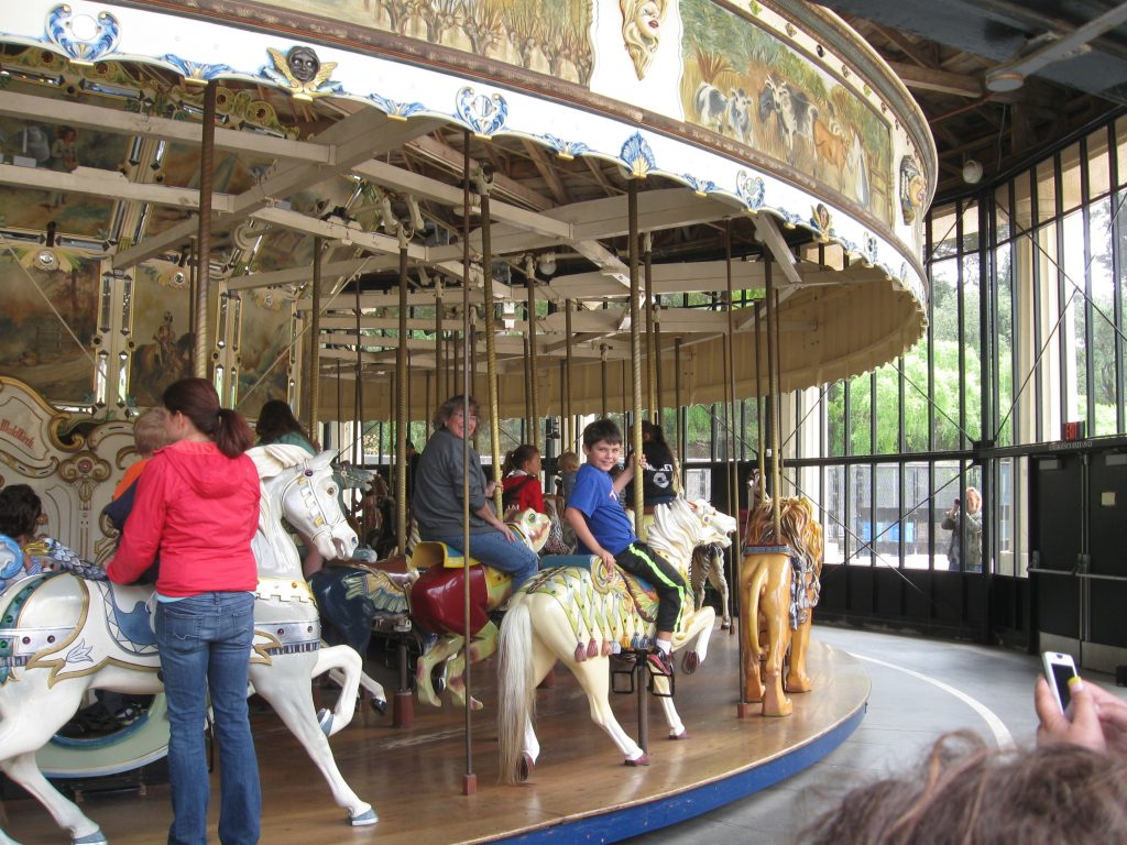 Bay Area trains and carousels — fun now and a part of ...