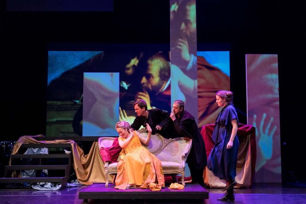 Review: A pioneering female painter sputters to operatic