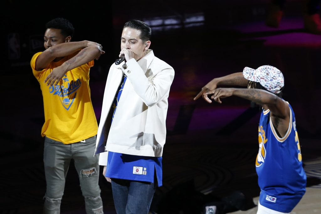 G-Eazy's uncensored halftime set shocks fans, delays