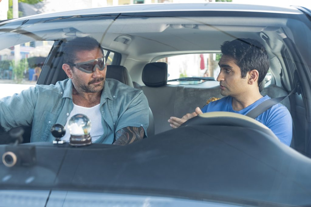 Review: Nanjiani and Bautista can't save 'Stuber' from bad