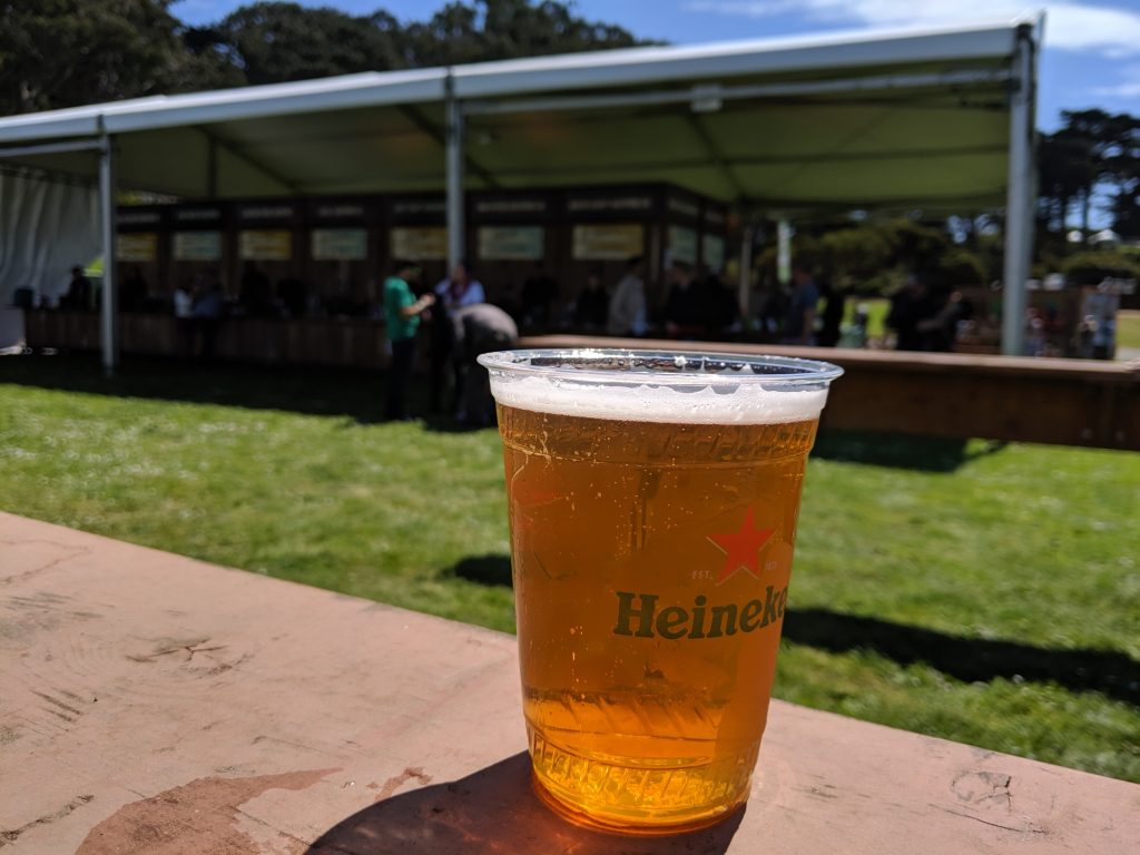 Best cocktails, beers and wine selections at Outside Lands
