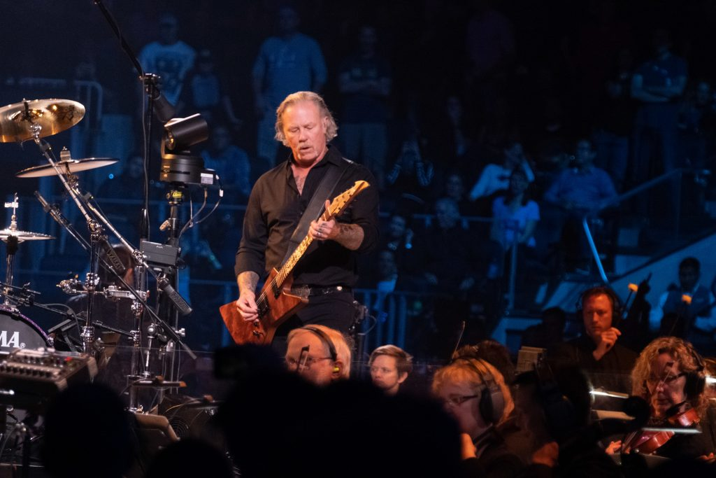 Metallica, Symphony make grand racket at Chase Center grand opening