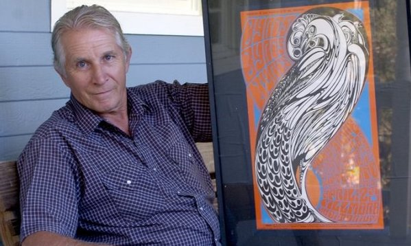IMG WES WILSON, American Artist, a Designer of Psychedelic Posters