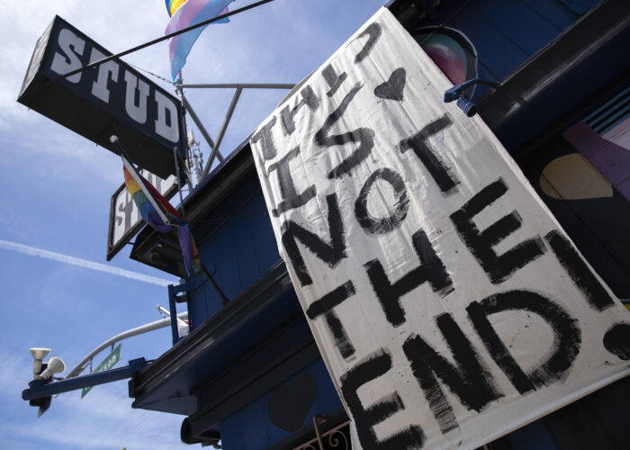 Thousands join digital 'funeral' for the Stud, San Francisco's oldest gay bar