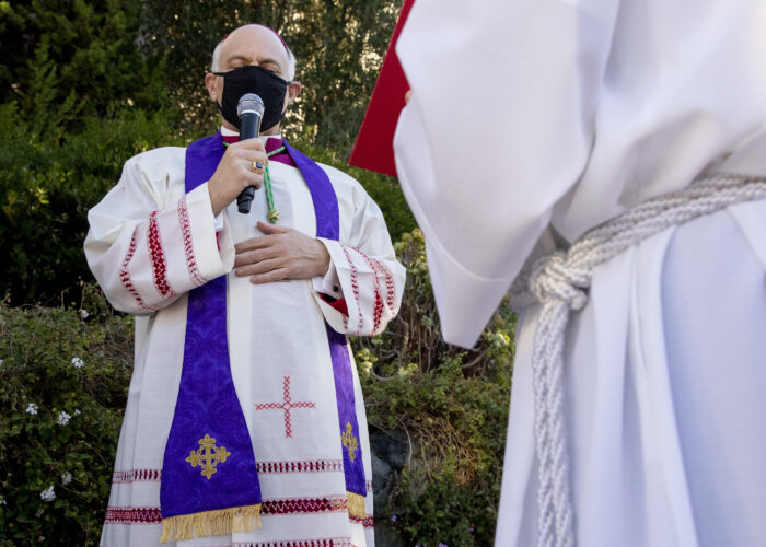 Bay Area Catholic leaders have better things to exorcise than a toppled statue