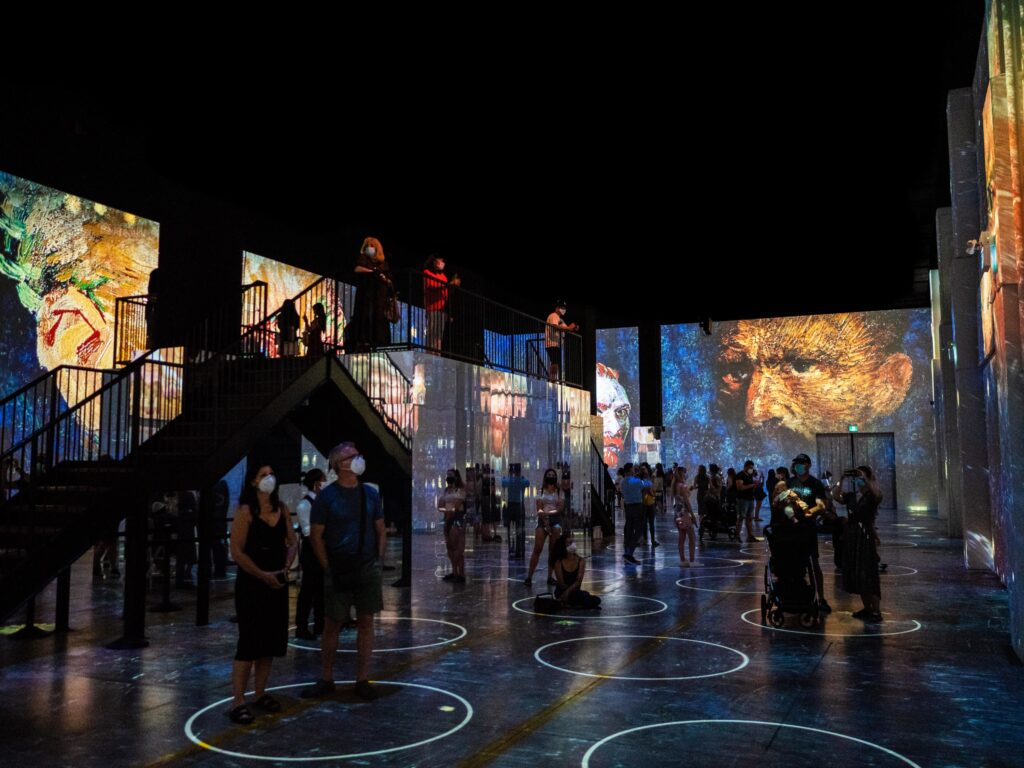 A scene from 'Immersive Van Gogh' coming to San Francisco in March 2021 at SVN West.