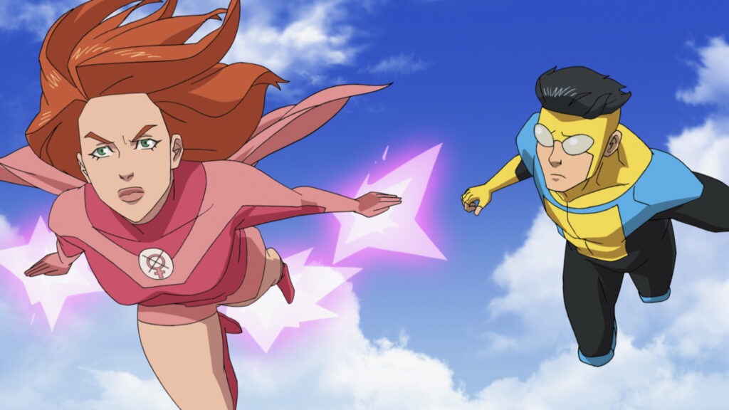 Review: Steven Yeun leads 'Invincible,' a brightly colored superhero  cartoon series | Datebook