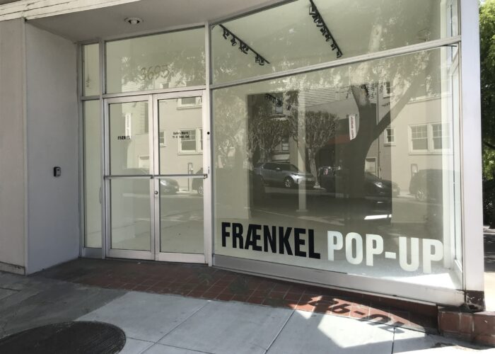 Fraenkel Gallery announces Pacific Heights pop-up show opening in May