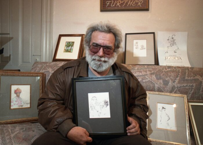 Rare piece of art by Grateful Dead's Jerry Garcia to be sold as NFT for more than $1 million