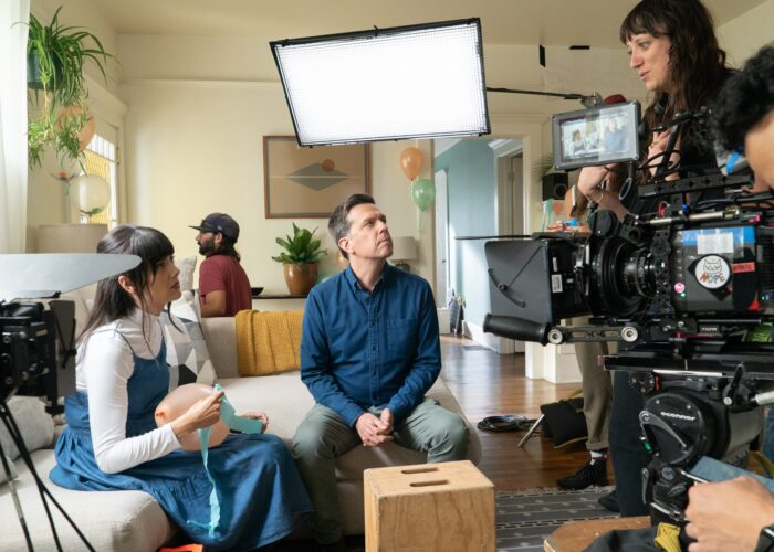 Patti Harrison, Ed Helms get out of their comfort zones in 'Together Together'