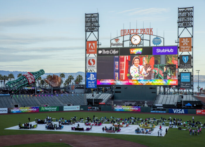 Frameline reaches for the 'Heights' at Oracle Park Pride Movie Nights opener