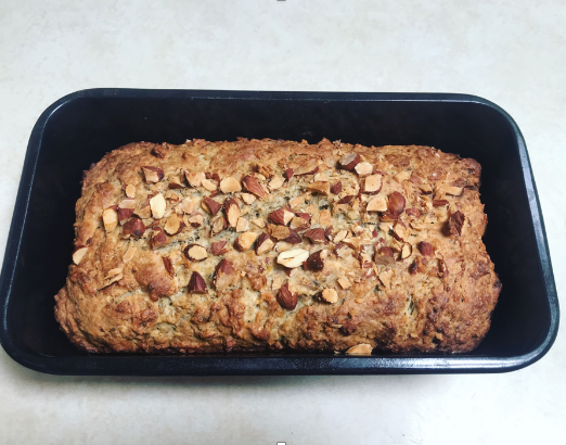 Try this healthy, cannabis-infused lemon yogurt almond loaf for dessert