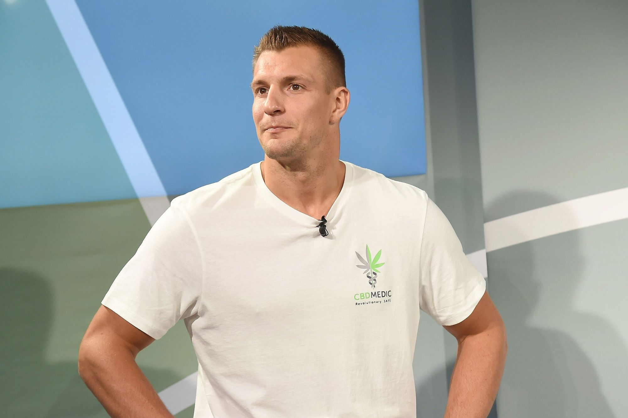 'It's just time': NFL's Rob Gronkowski gets into the CBD business