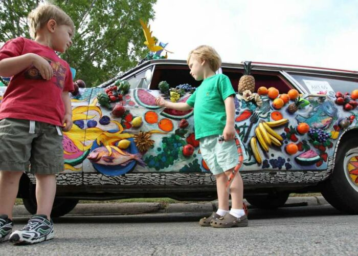 Family Fun: Houston Art Car Experience and the Pasadena Strawberry Festival are top picks