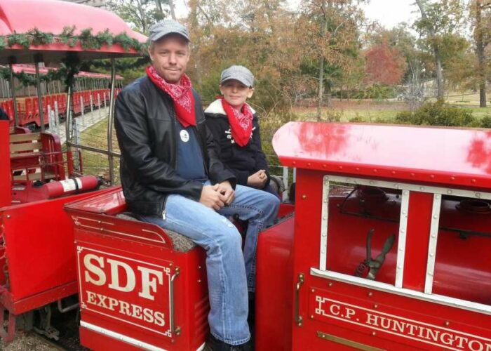 Hermann Park lets train enthusiasts be engineer for a day