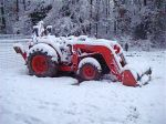 Buried Tractor