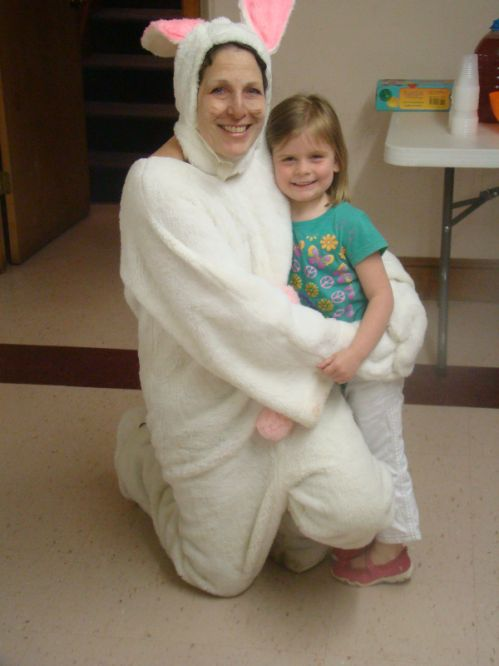 Church Easter Bunny