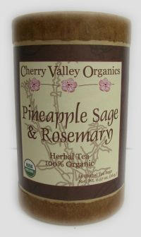 Pineapple Sage & Rosemary Herbal Tea