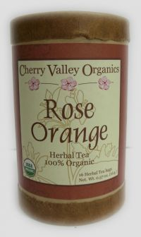 Rose Orange Herbal Tea