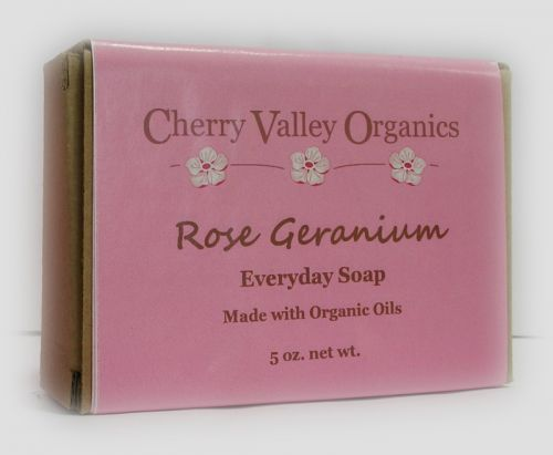 Rose Geranium Everyday Soap