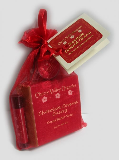 Chocolate Covered Cherry Gift Bag