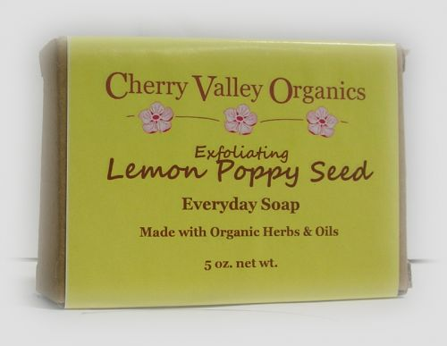 Exfoliating Lemon Poppy Seed Everyday Soap