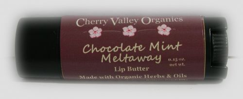 Chocolate Mint Meltaway Lip Butter