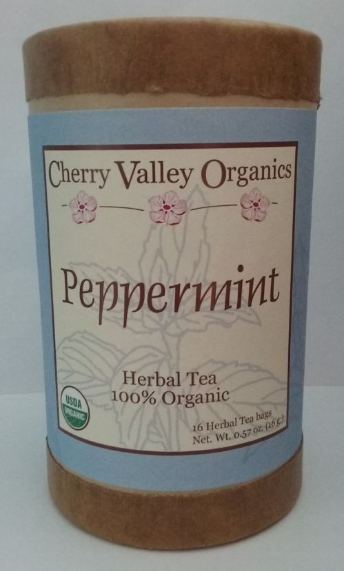 NEW!  Peppermint Herbal Tea