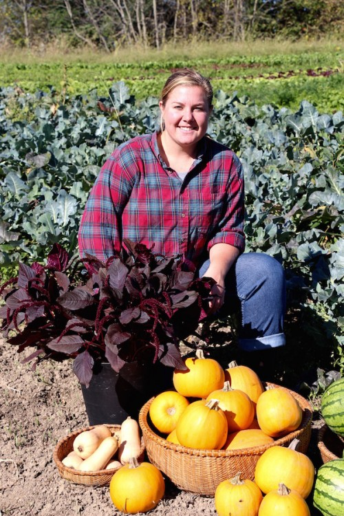 Allie Logue of Cherry Valley Organics