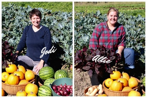 Jody Danyo and Allie Logue of Cherry Valley Organics
