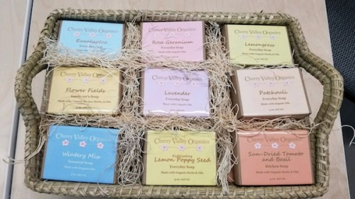 Handmade organic soaps for sale